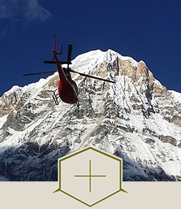 Tour helicopter Annapurna