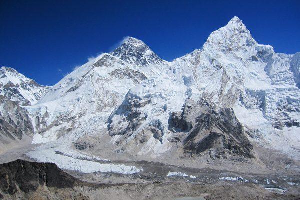 Camp de base Everest depuis Kala Pattar