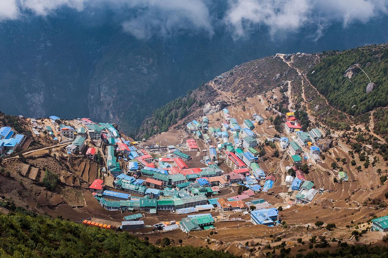 Namche Bazaar - trek Népal