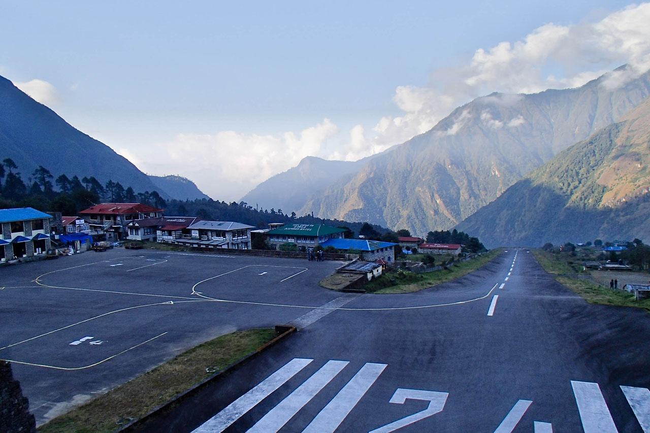 aeroport de Lukla - Himalaya -Népal