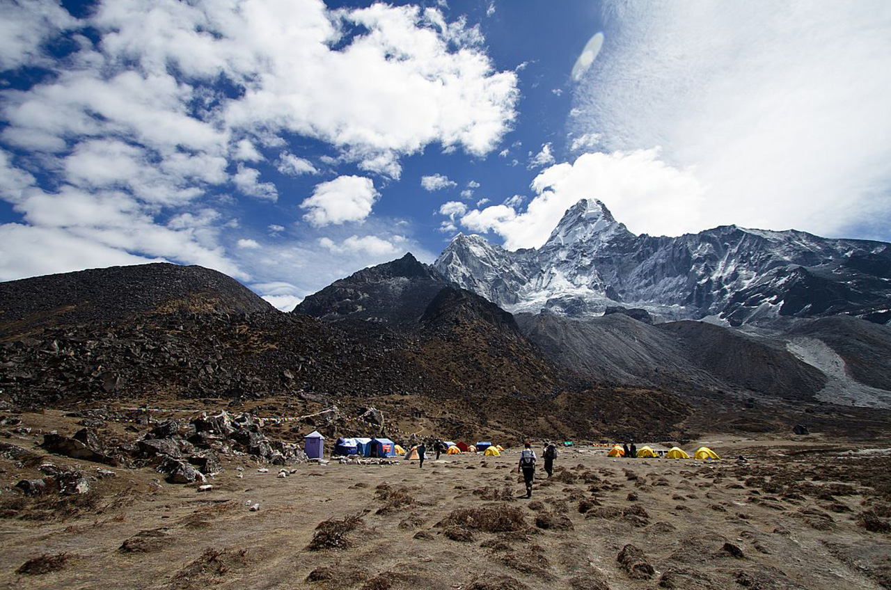Trek de tengboche à dingboche, Népal