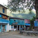 Départ du village de Bahundanda – Annupurna trekking