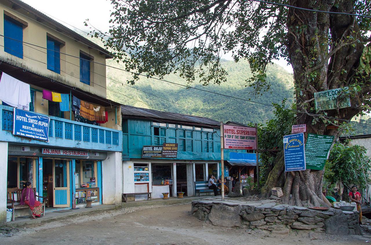 Trek Annapurna - Départ de Bahundanda - Trekking Himalaya