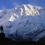 Vue sur l'Annapurna face sud – Trek