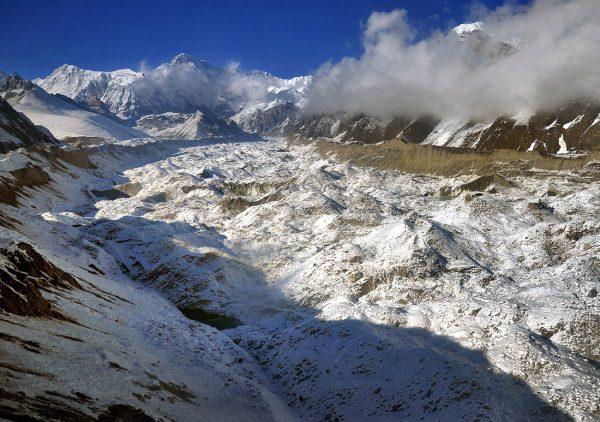 Glacier de Ngozumpa - Gokyo trek