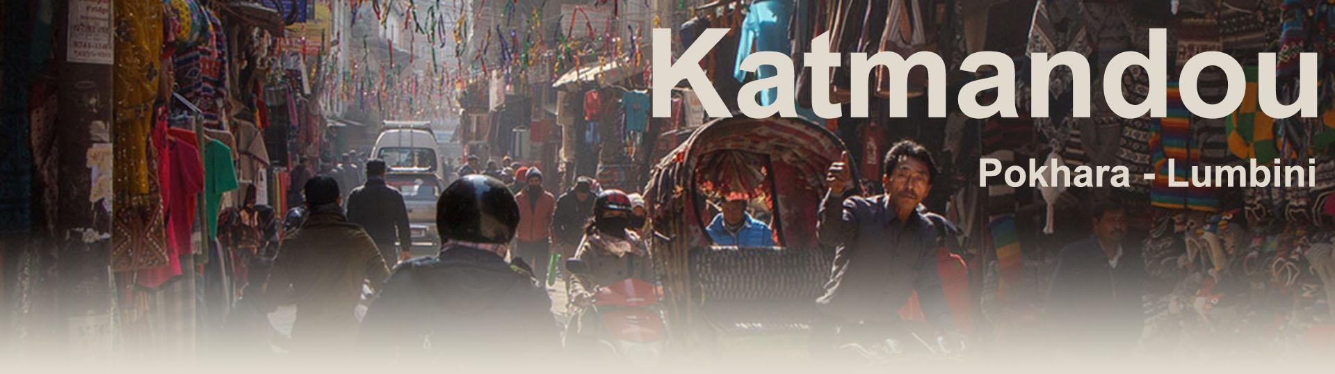 Katmandou Phokhara Lumbini tour