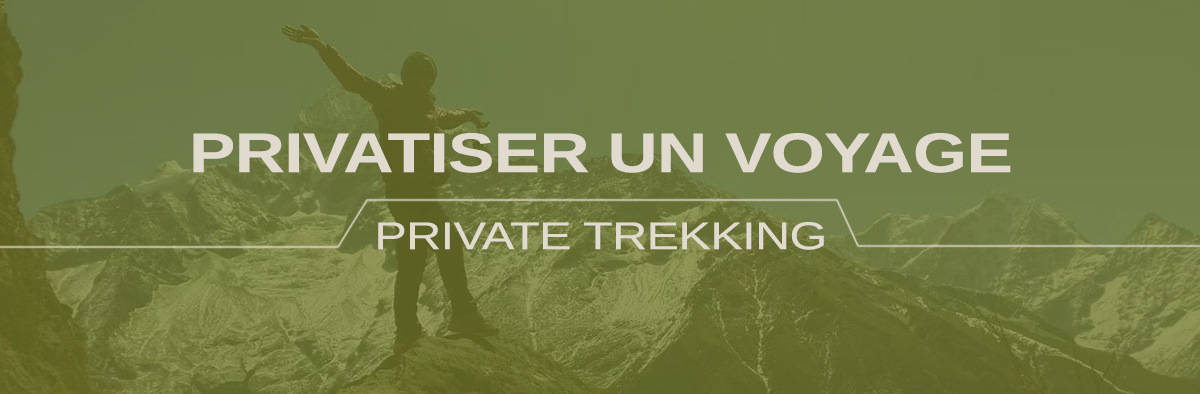 Trek Népal privatisé - guide