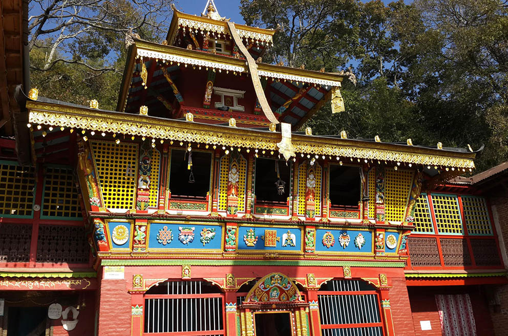 temple de Vajra Yogini Pharping