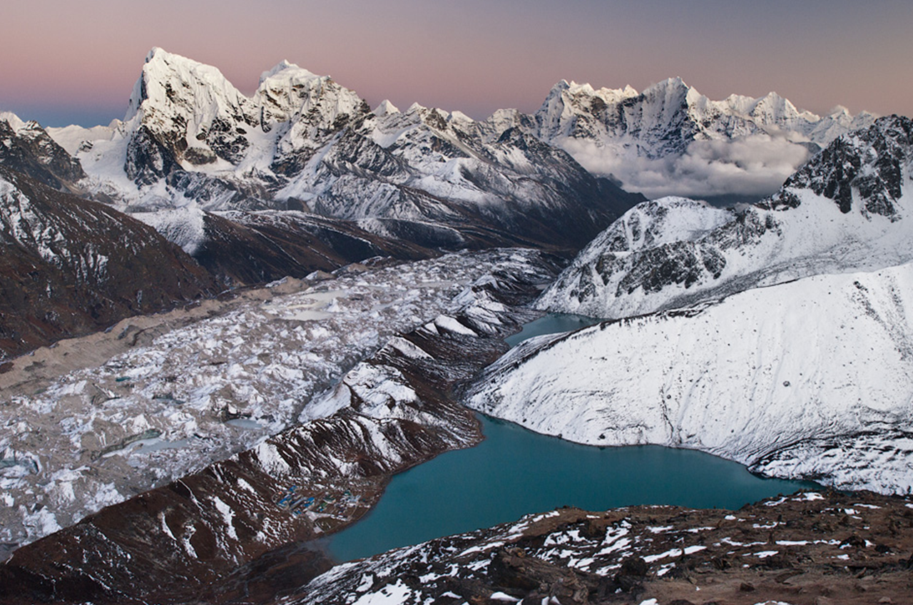 Gokyo Ri - trek Everest