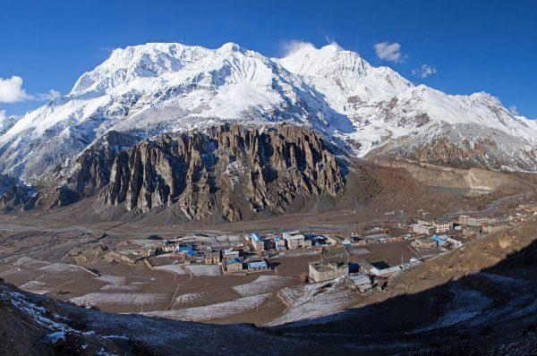 Village de Manang Népal