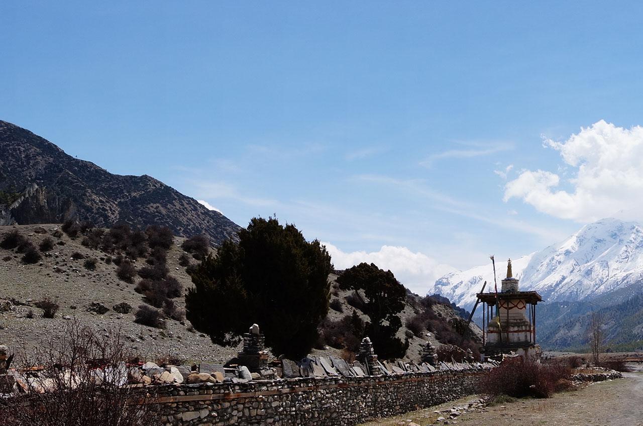 Manang - trek au Népal