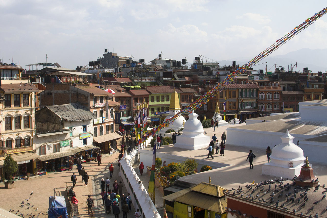 Stupa Bodhanath Katmandou