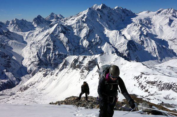 Ascension de Yala peak