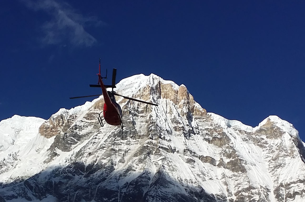 Hélicoptère tour - Helicopter tour - Nepal - Annapurna