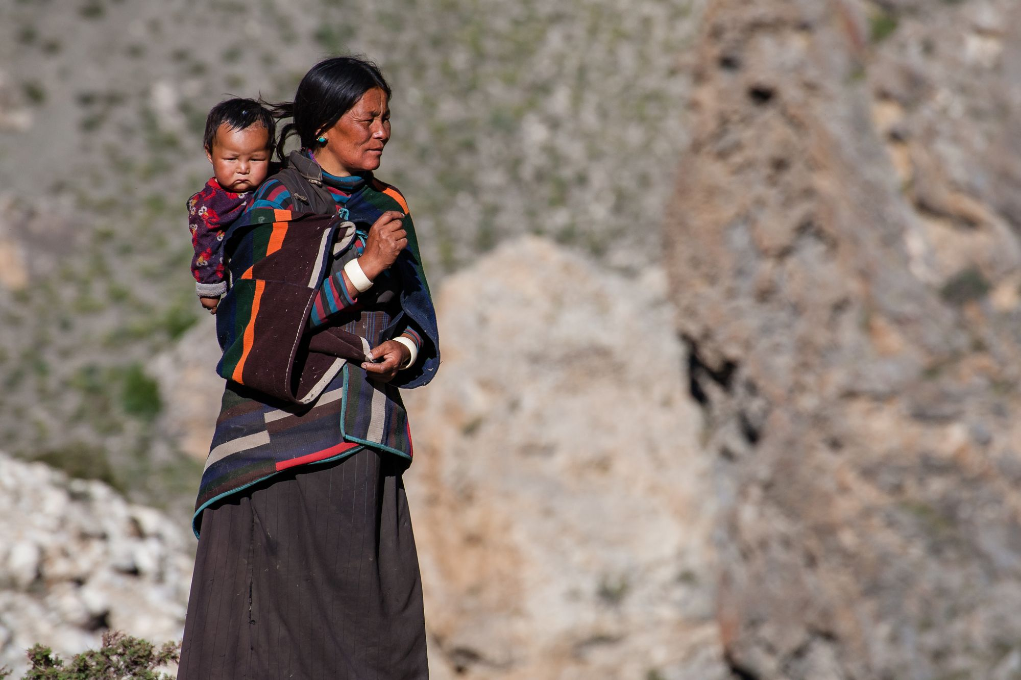 Village Dolpo trek Népal