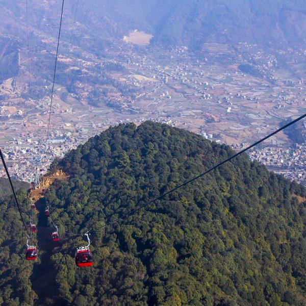 Chandragiri hill - Visite Katmandou