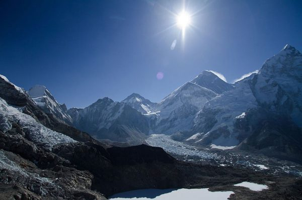 Jiri everest trek Gorak Shep