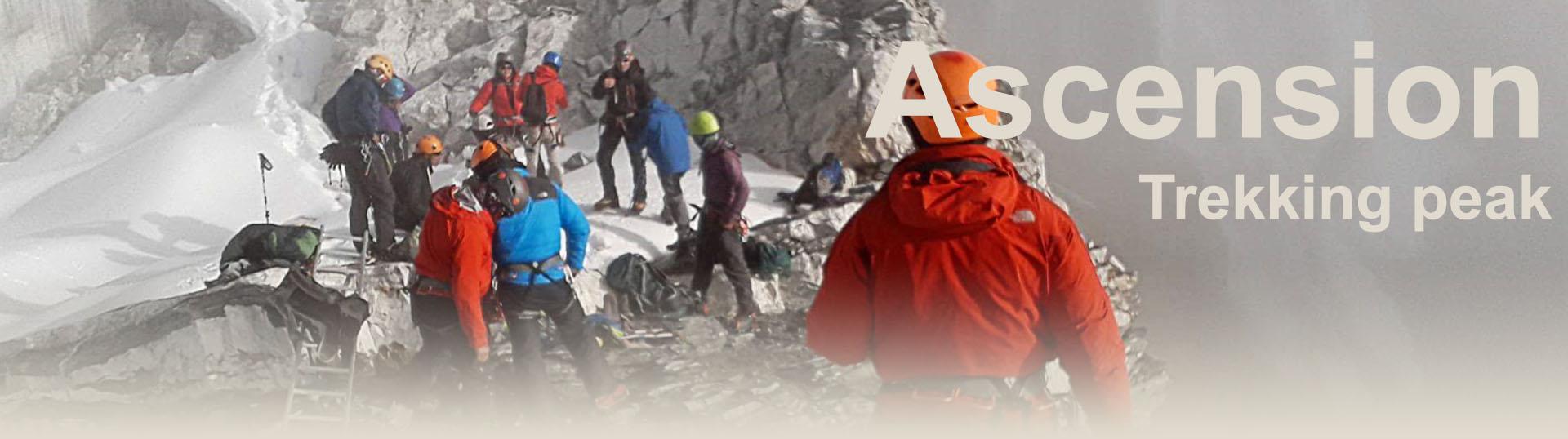Ascension Trekking peak Himalaya