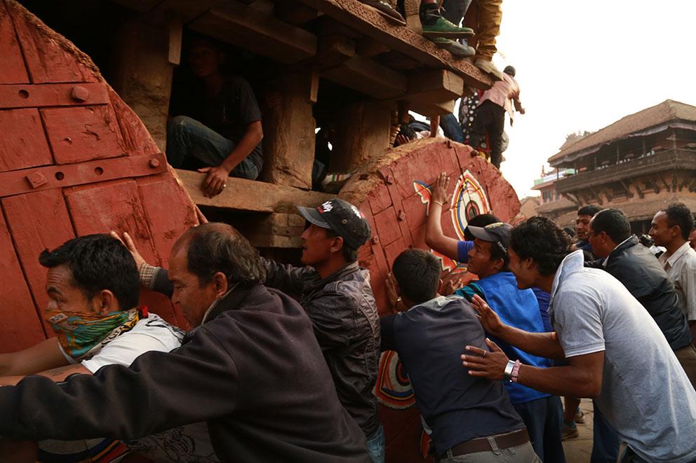Nouvel an Népal Bhaktapur