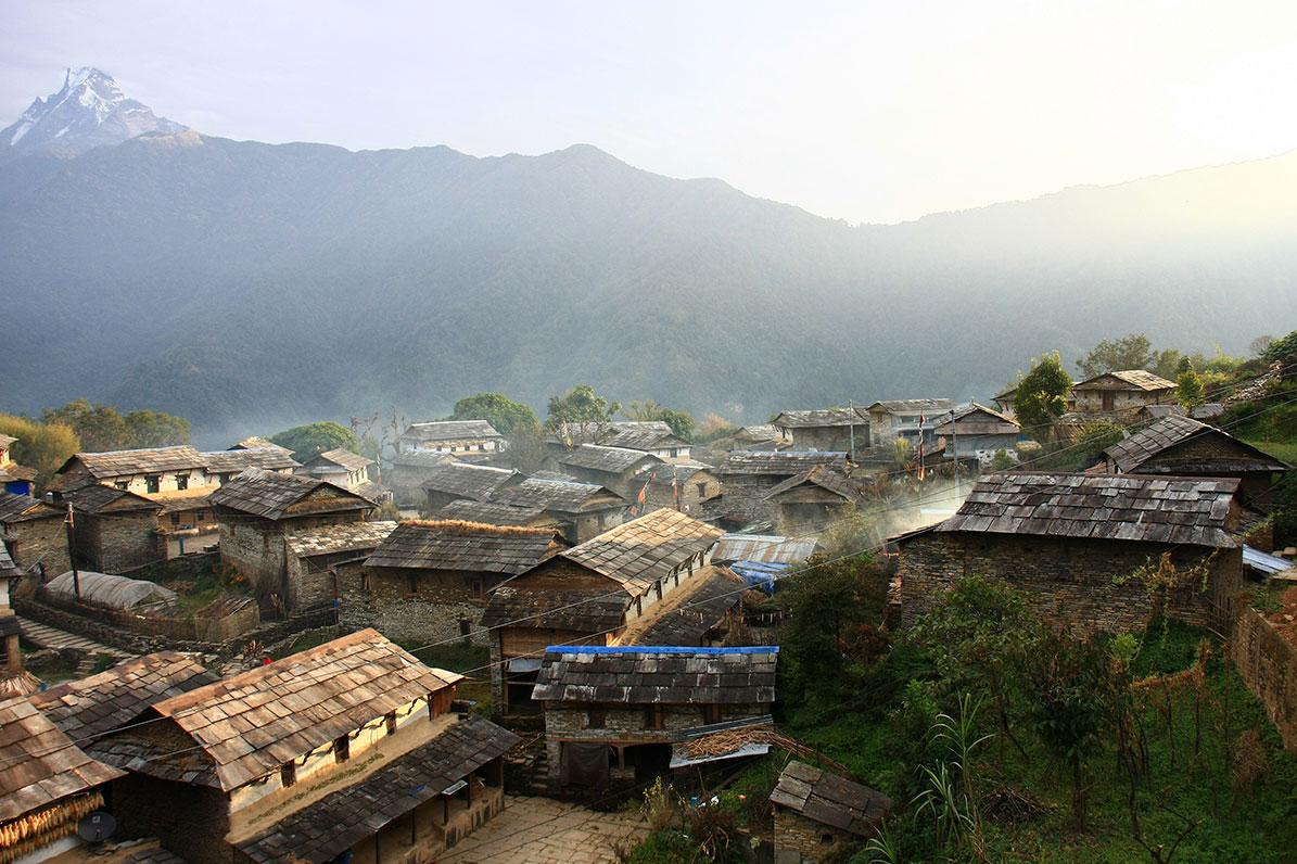 circuit au népal - Birethanti