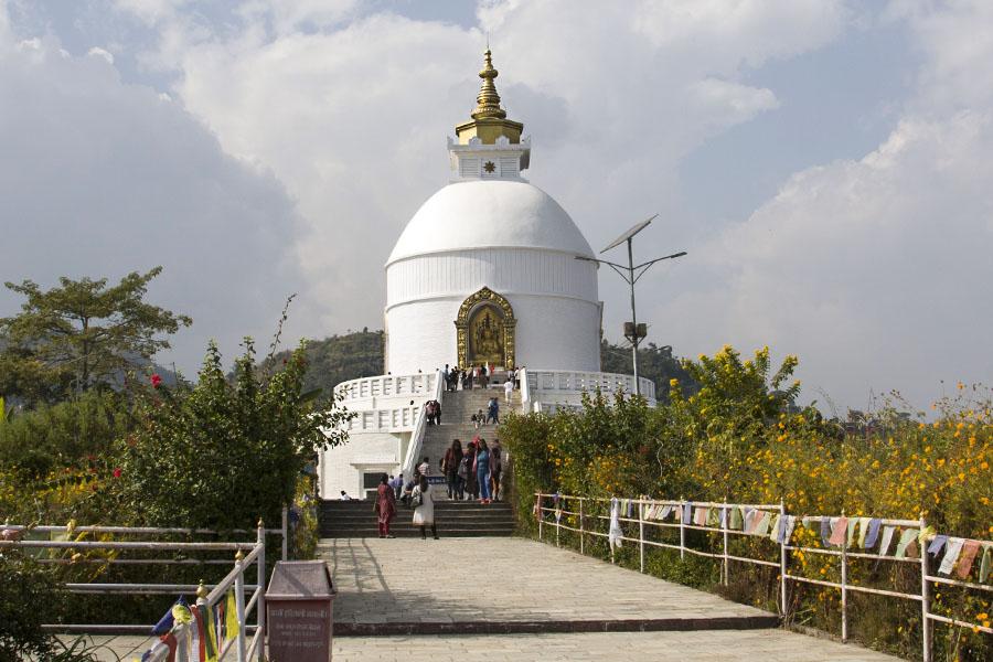 Stupa de la paix mondiale