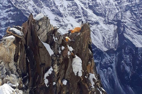Ascension de l'Ama d'AblamAma dablam Népal