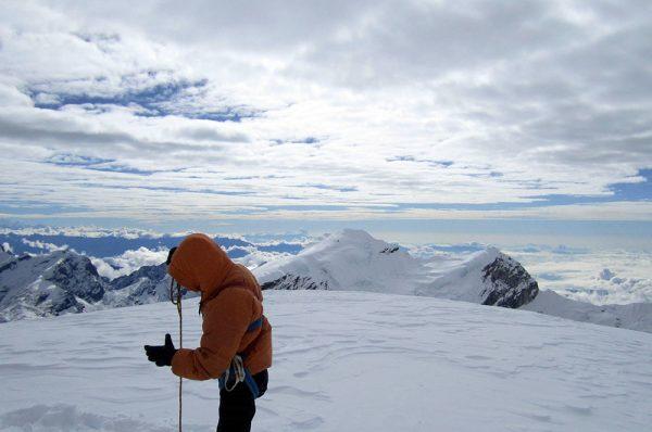 Au sommet de Mera Peak