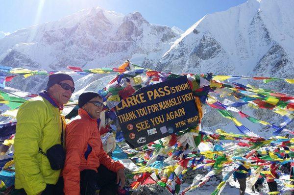 Larke Pass trekking peak