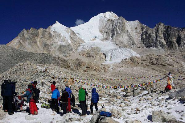 Larkya peak ascension