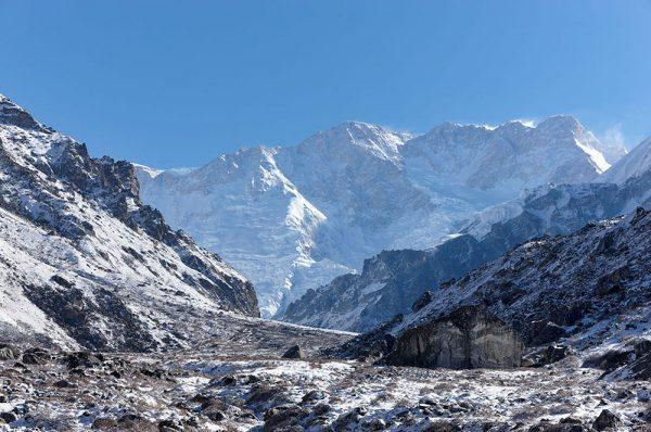Le mont Kangchenjunga