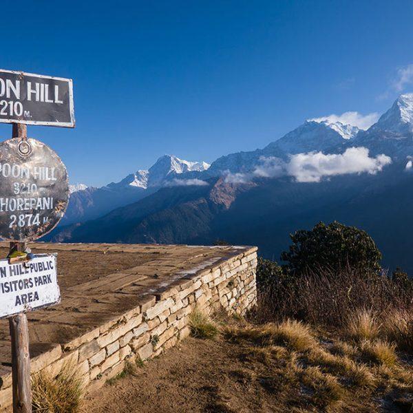 Poon Hill trek facile au Népal