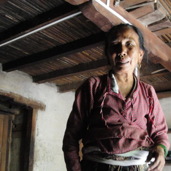 Ethnie Tamang dans le Langtang